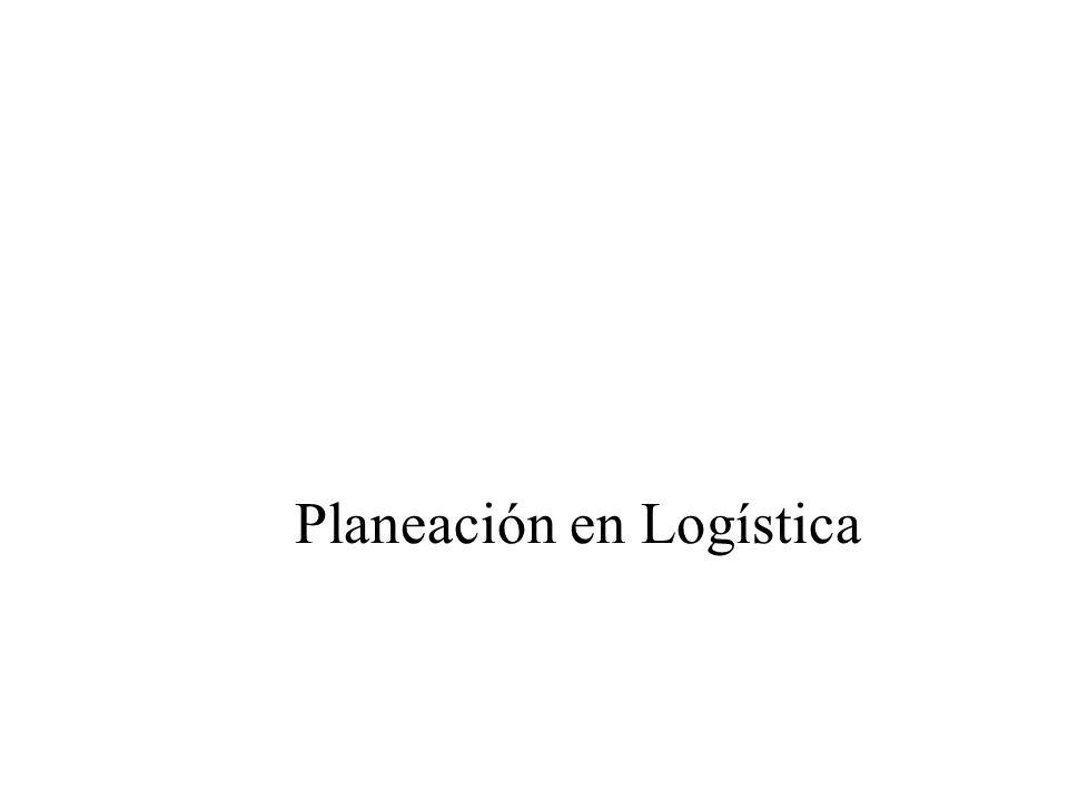 Planeación en Logística