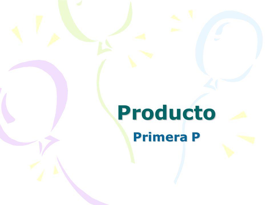 Producto Primera P