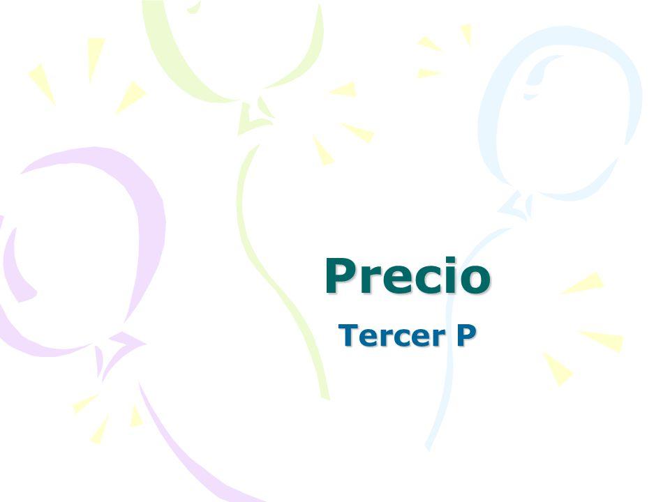 Precio Tercer P