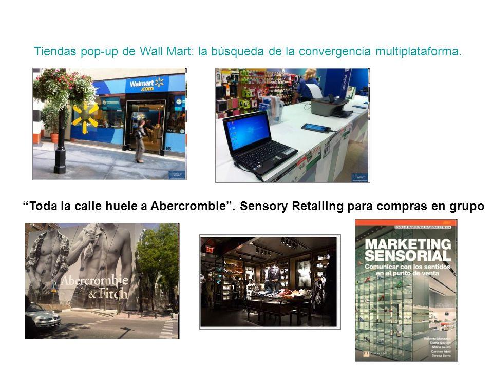 punto de partida Tiendas pop-up de Wall Mart: la búsqueda de la convergencia multiplataforma.