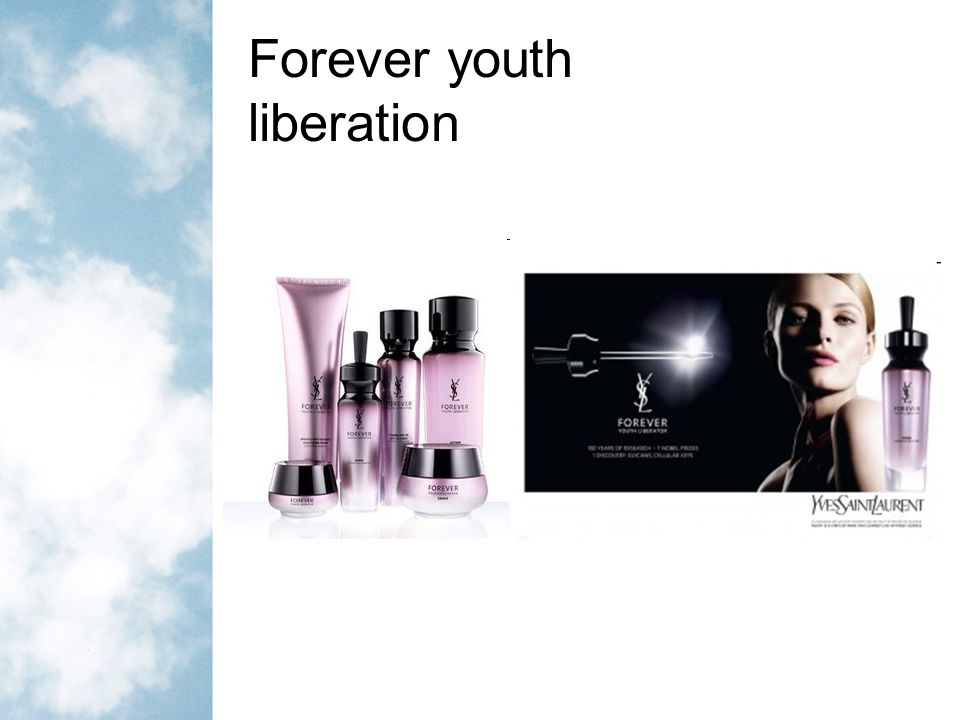 Forever youth liberation
