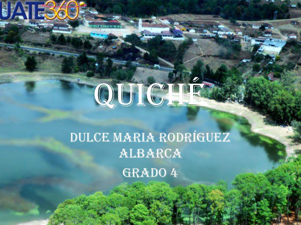 Dulce Maria Rodríguez Albarca Grado 4