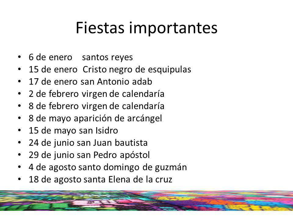 Fiestas importantes 6 de enero santos reyes