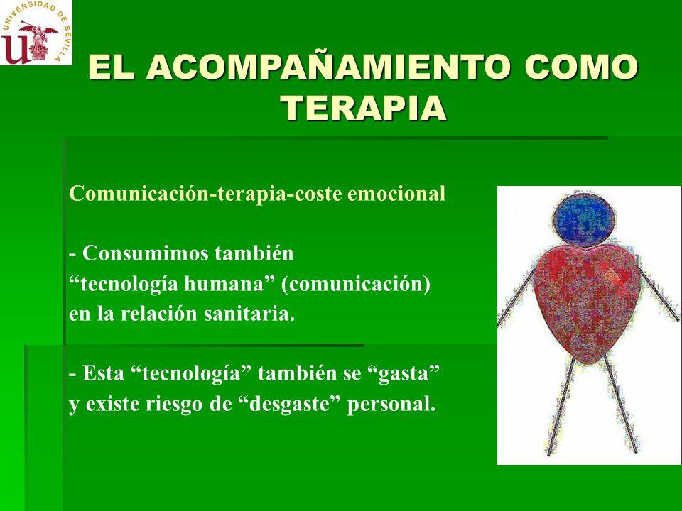 EL ACOMPAÑAMIENTO COMO TERAPIA