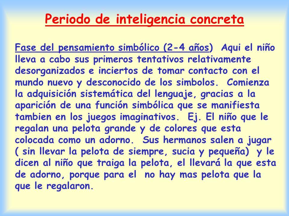 Periodo de inteligencia concreta