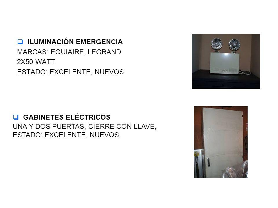 ILUMINACIÓN EMERGENCIA