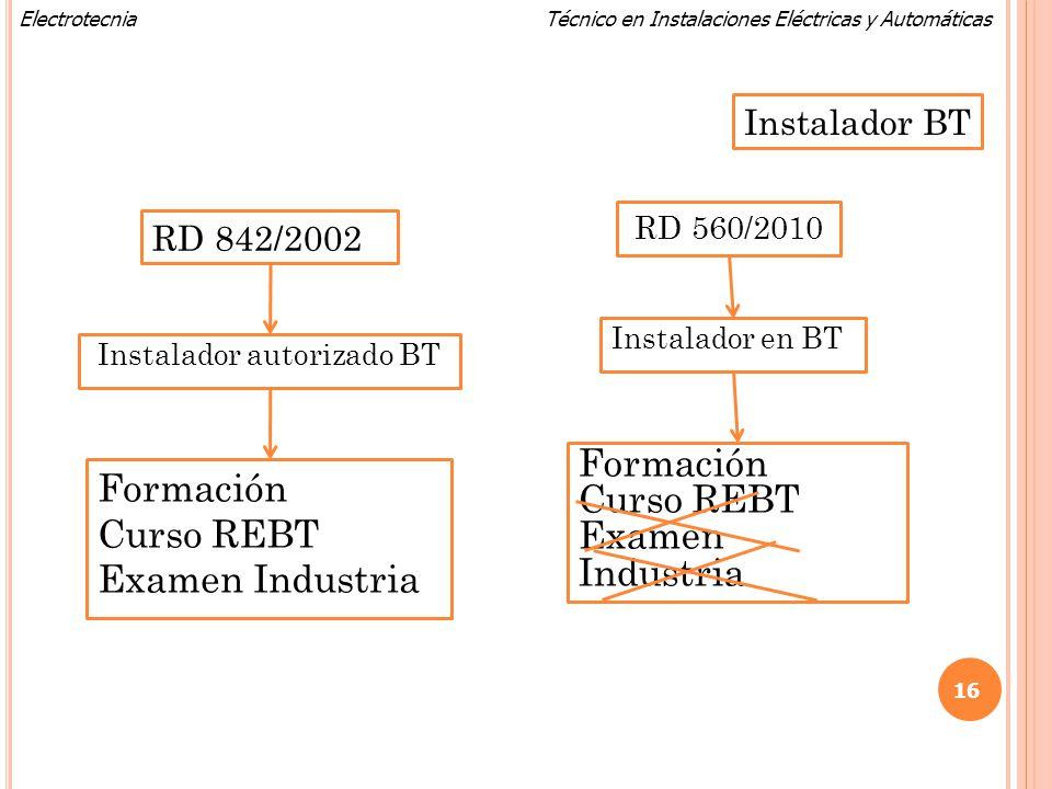 Instalador autorizado BT
