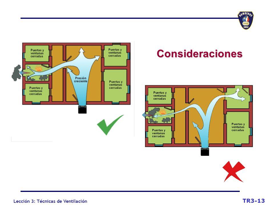 Consideraciones TR3-13