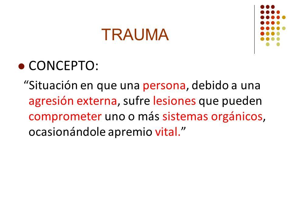 Trauma CONCEPTO: