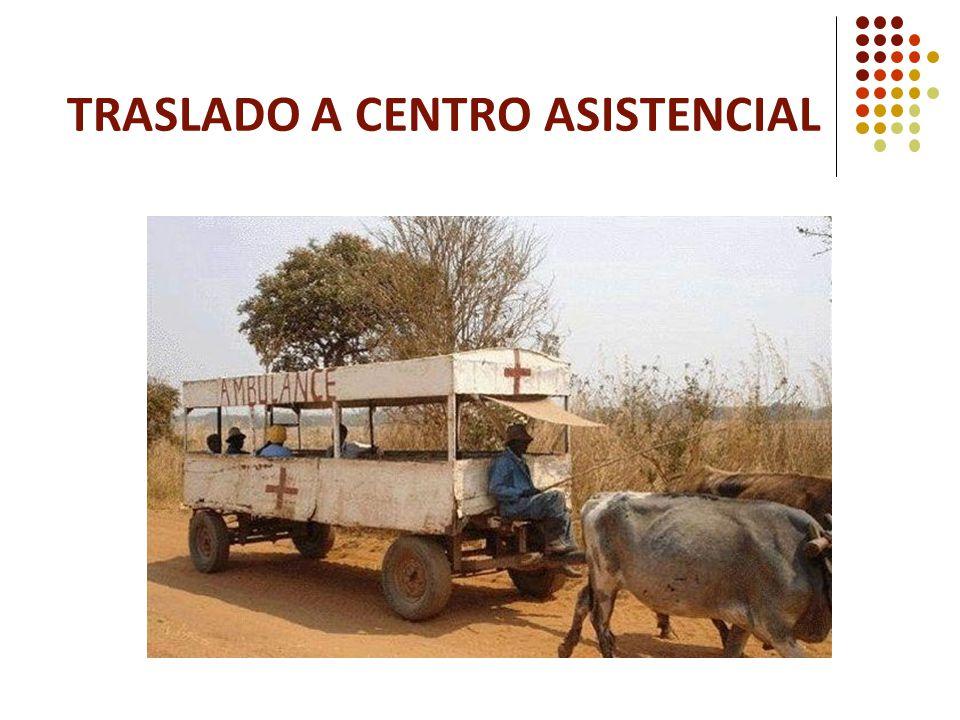 Traslado a Centro Asistencial