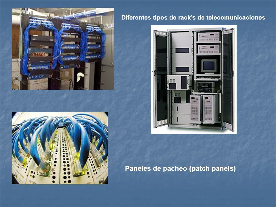 Paneles de pacheo (patch panels)
