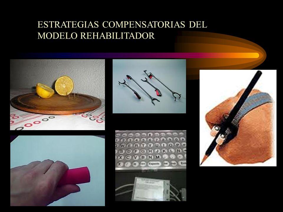 ESTRATEGIAS COMPENSATORIAS DEL MODELO REHABILITADOR