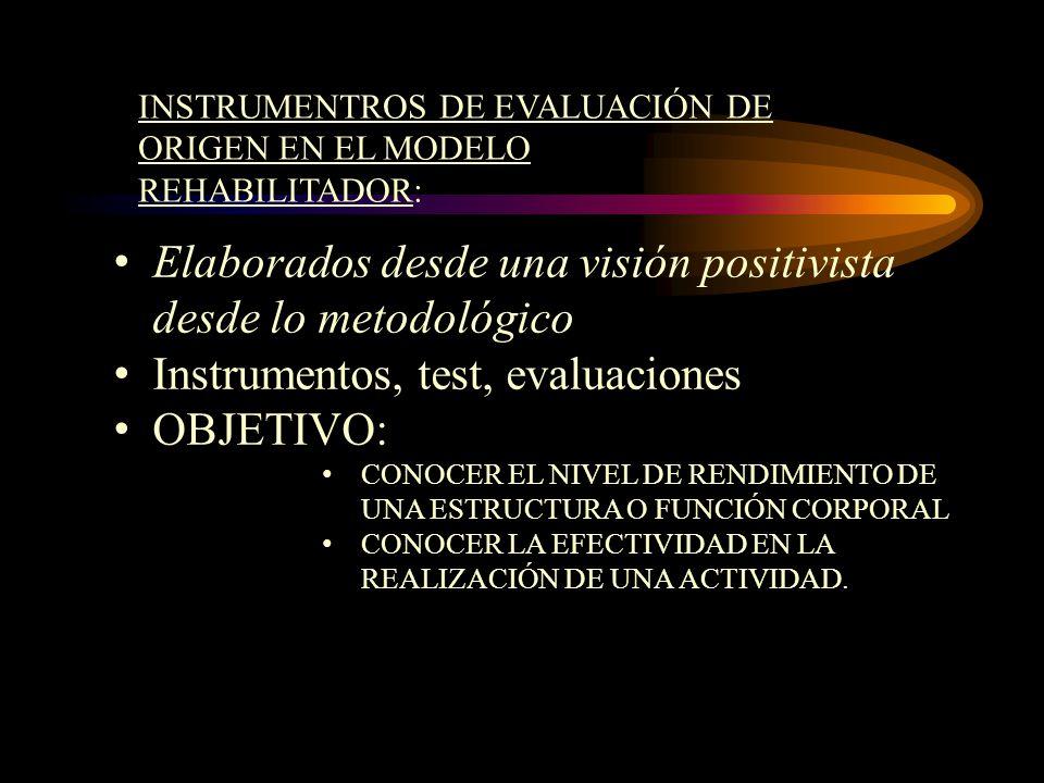 Elaborados desde una visión positivista desde lo metodológico
