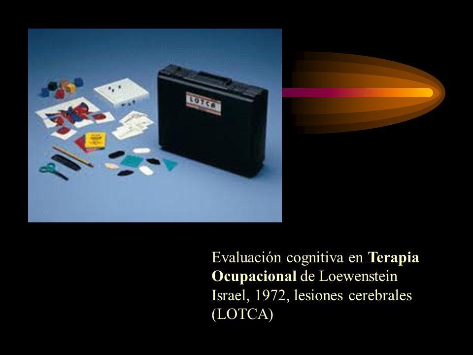 Evaluación cognitiva en Terapia Ocupacional de Loewenstein