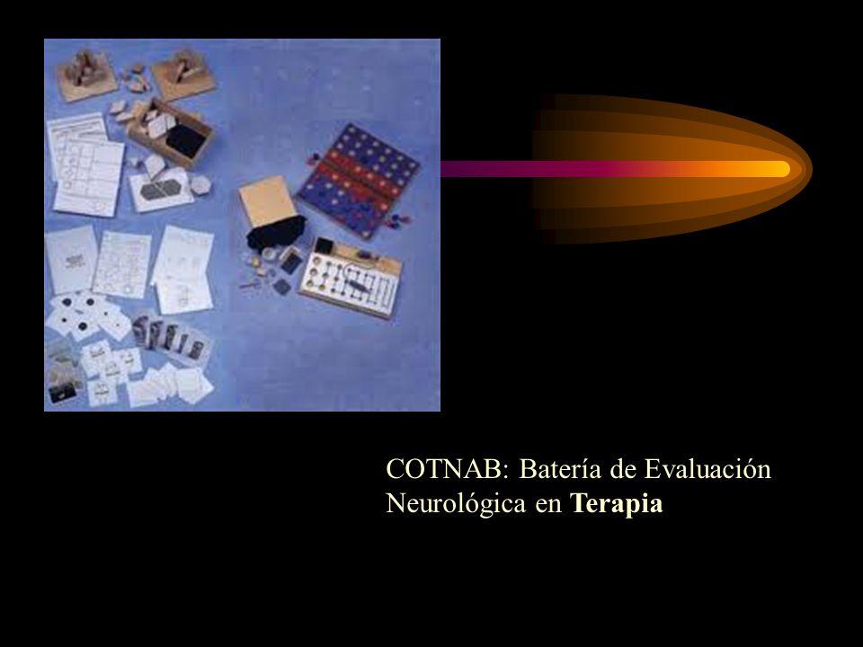 COTNAB: Batería de Evaluación Neurológica en Terapia