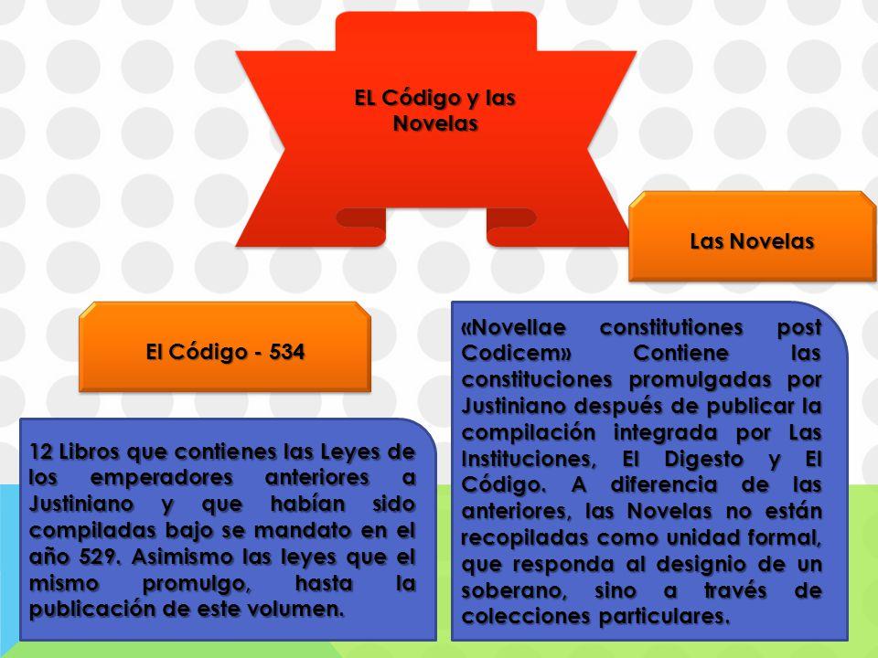 EL Código y las Novelas Las Novelas. El Código - 534.
