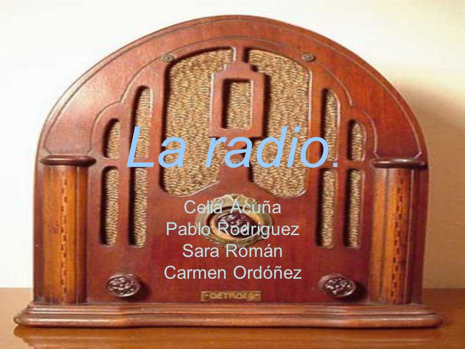 Celia Acuña Pablo Rodríguez Sara Román Carmen Ordóñez