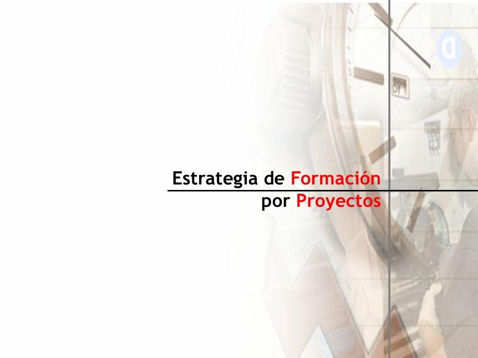 Estrategia de Formación por Proyectos