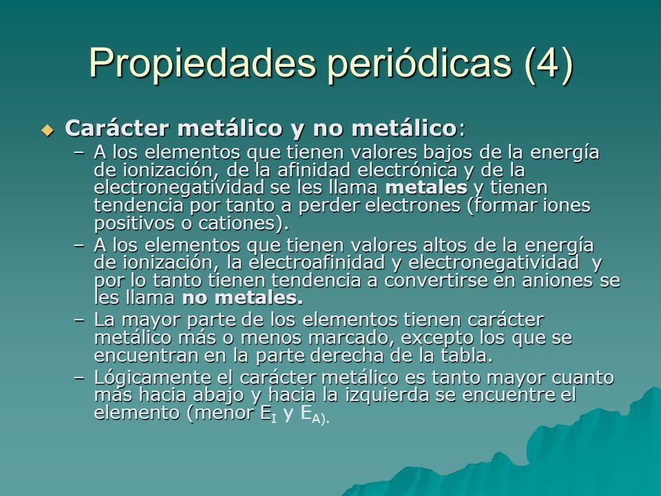 Propiedades periódicas (4)