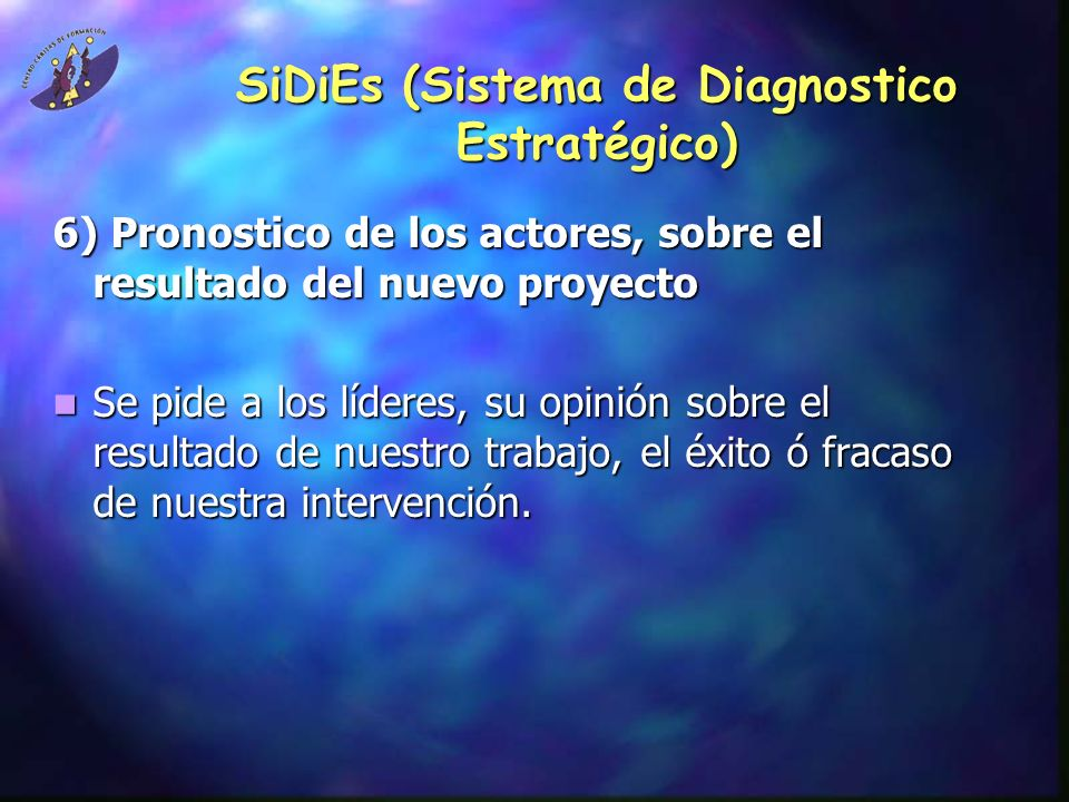 SiDiEs (Sistema de Diagnostico Estratégico)