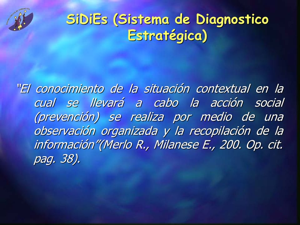 SiDiEs (Sistema de Diagnostico Estratégica)
