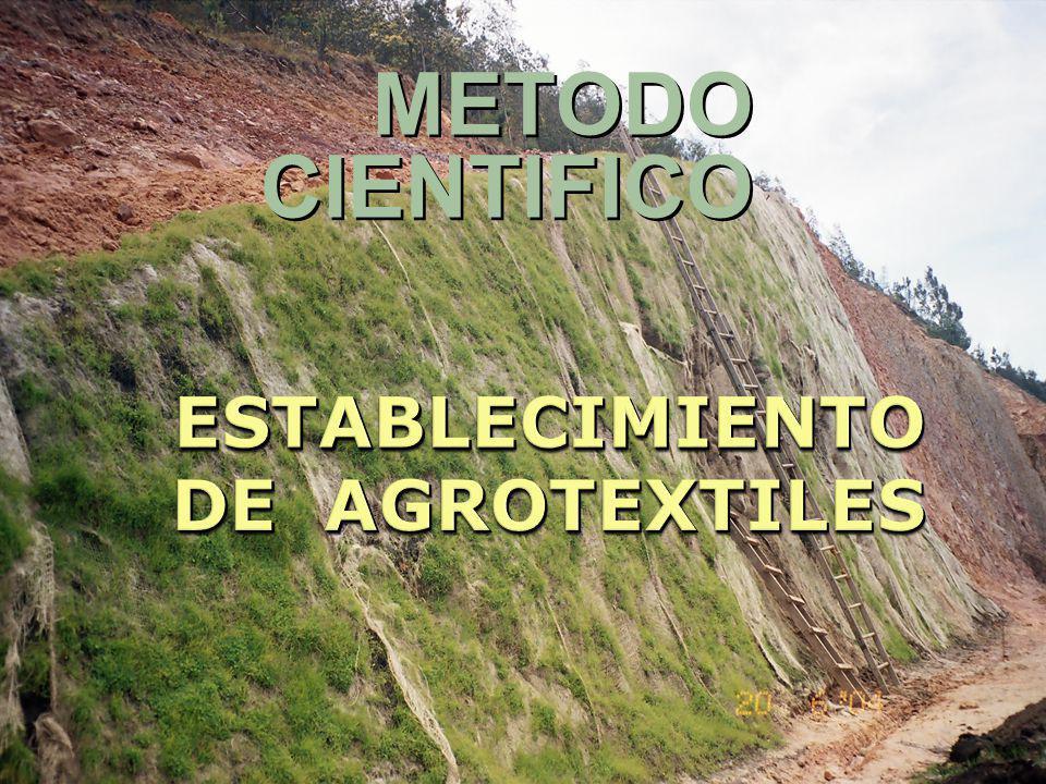 ESTABLECIMIENTO DE AGROTEXTILES