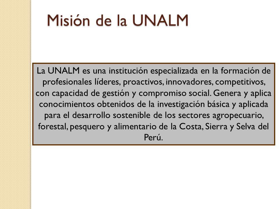Misión de la UNALM