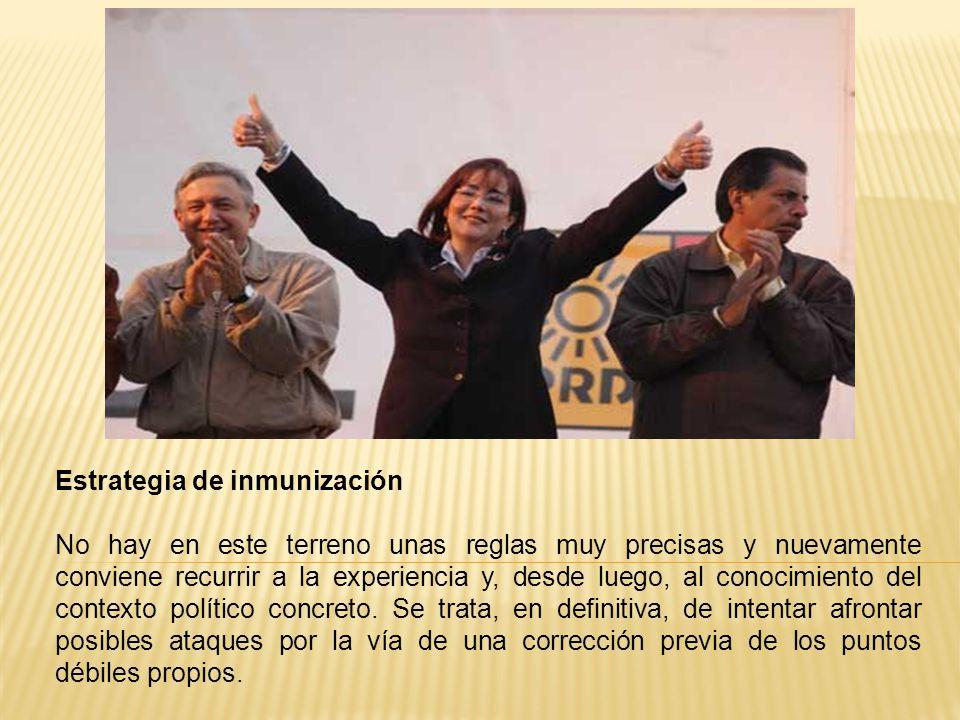 Estrategia de inmunización