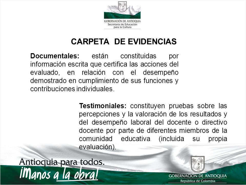 CARPETA DE EVIDENCIAS