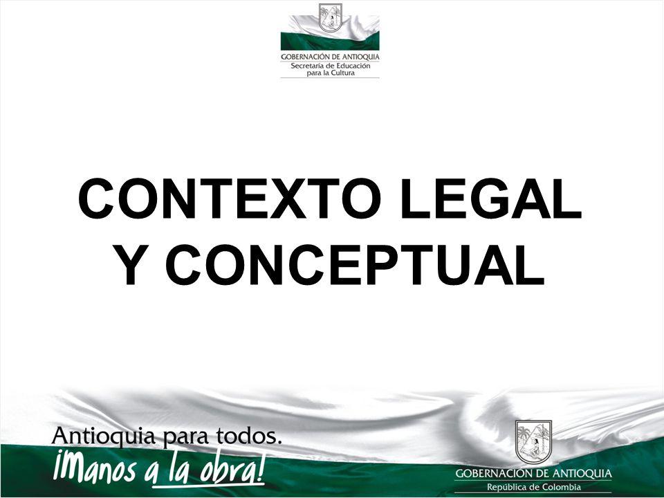 CONTEXTO LEGAL Y CONCEPTUAL