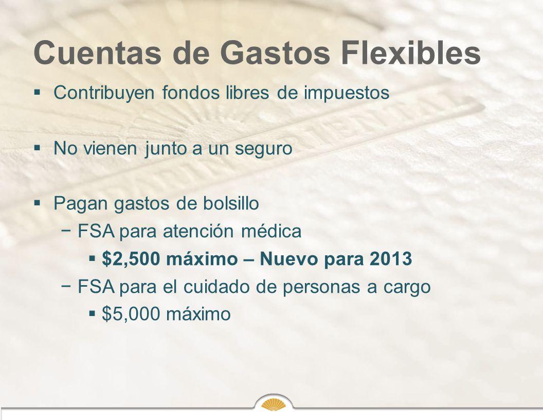Cuentas de Gastos Flexibles