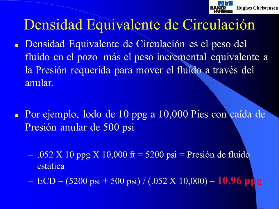 Densidad Equivalente de Circulación