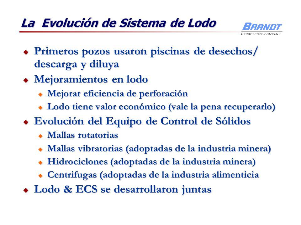La Evolución de Sistema de Lodo