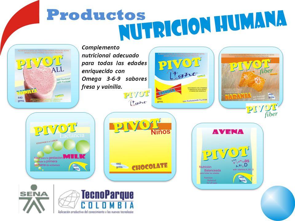 Productos Complemento nutricional adecuado