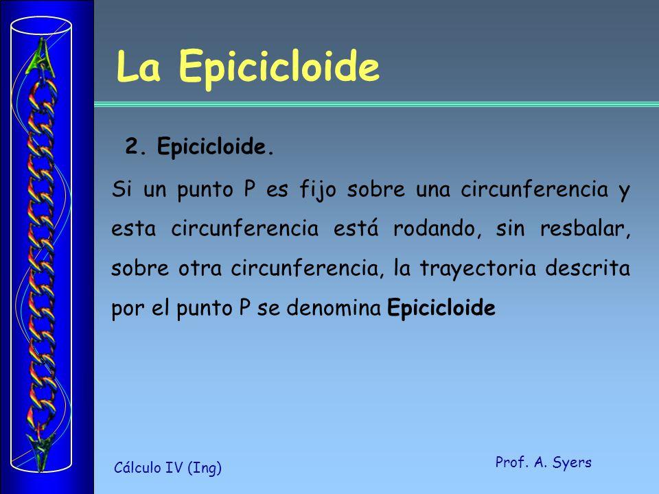 La Epicicloide 2. Epicicloide.