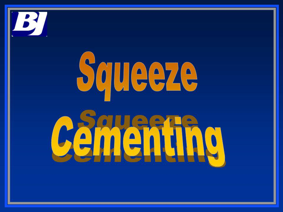 Squeeze Cementing