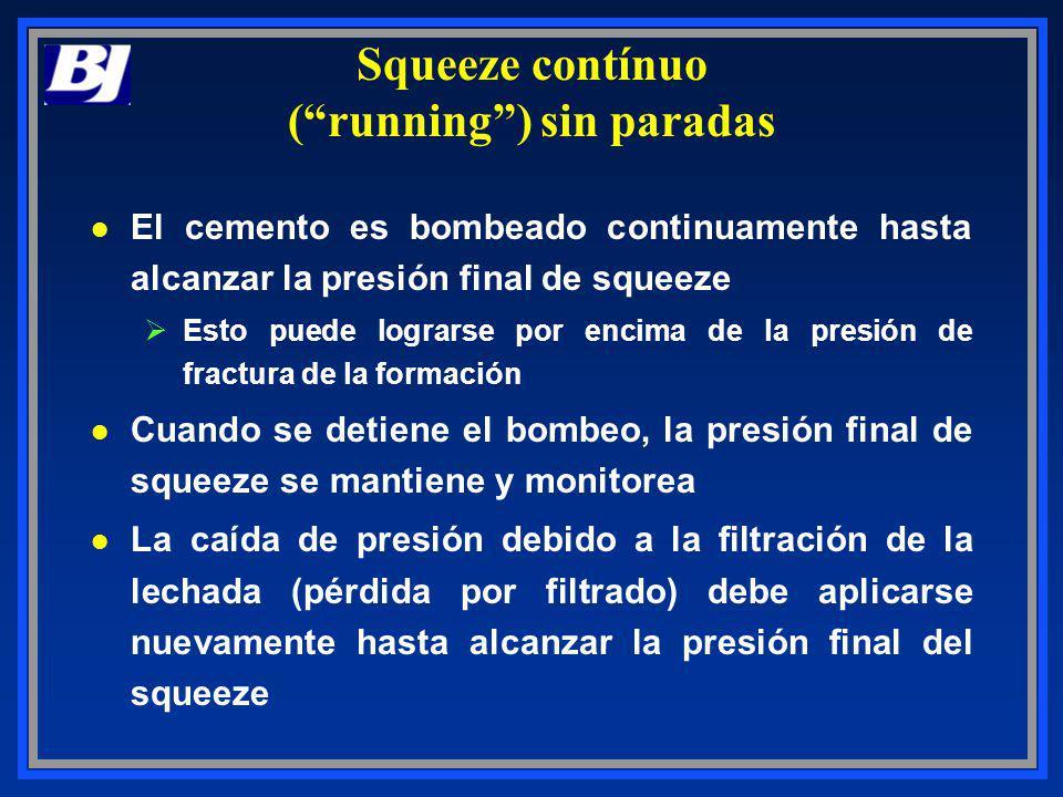 Squeeze contínuo ( running ) sin paradas