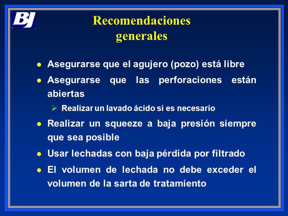 Recomendaciones generales