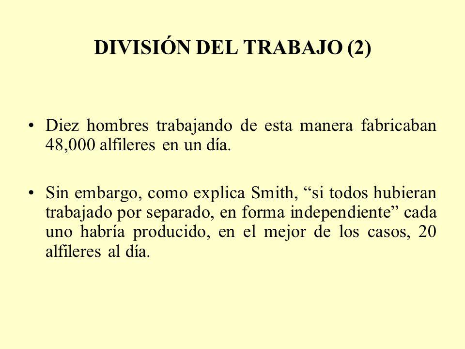 DIVISIÓN DEL TRABAJO (2)