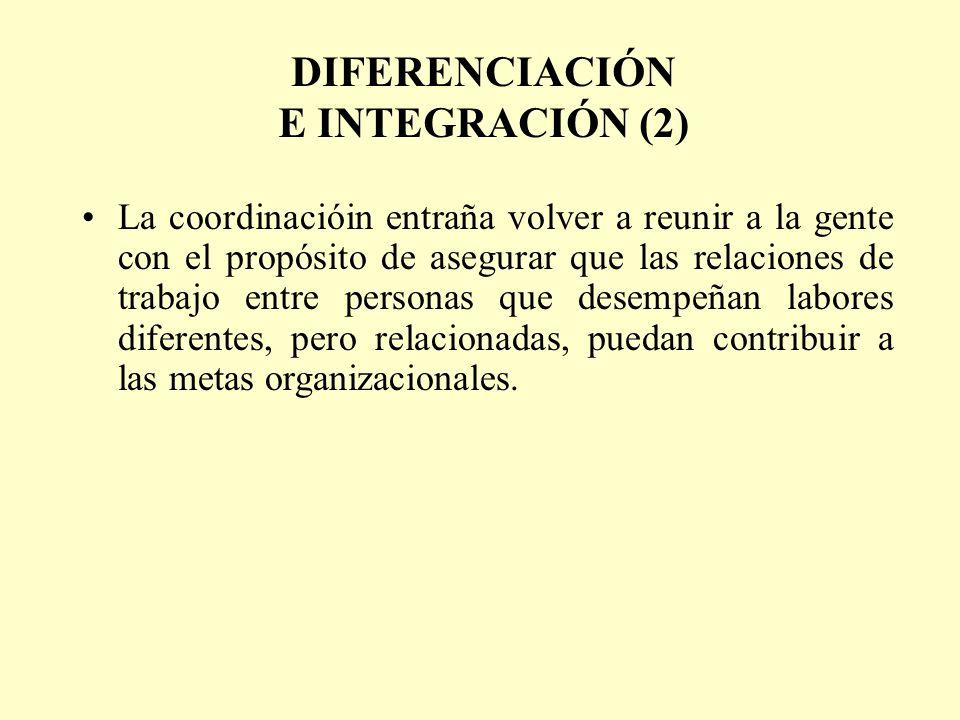 DIFERENCIACIÓN E INTEGRACIÓN (2)