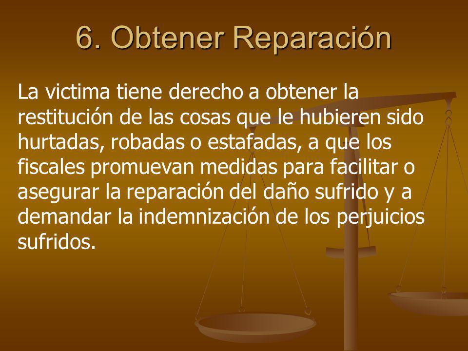 6. Obtener Reparación