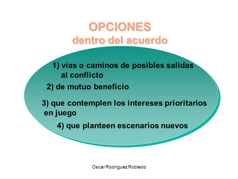 4) que planteen escenarios nuevos