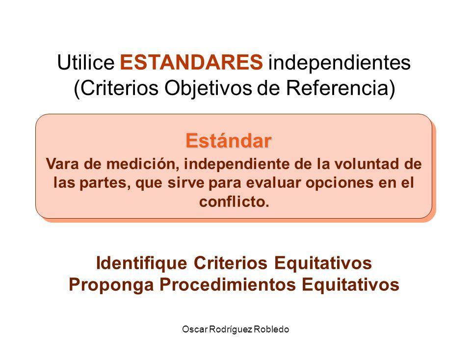Identifique Criterios Equitativos Proponga Procedimientos Equitativos