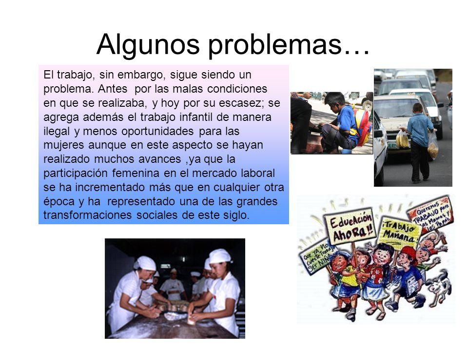Algunos problemas…