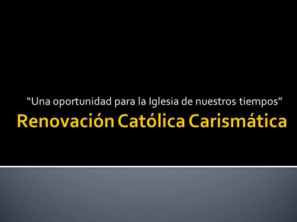Renovación Católica Carismática