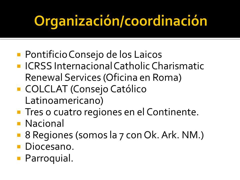 Organización/coordinación