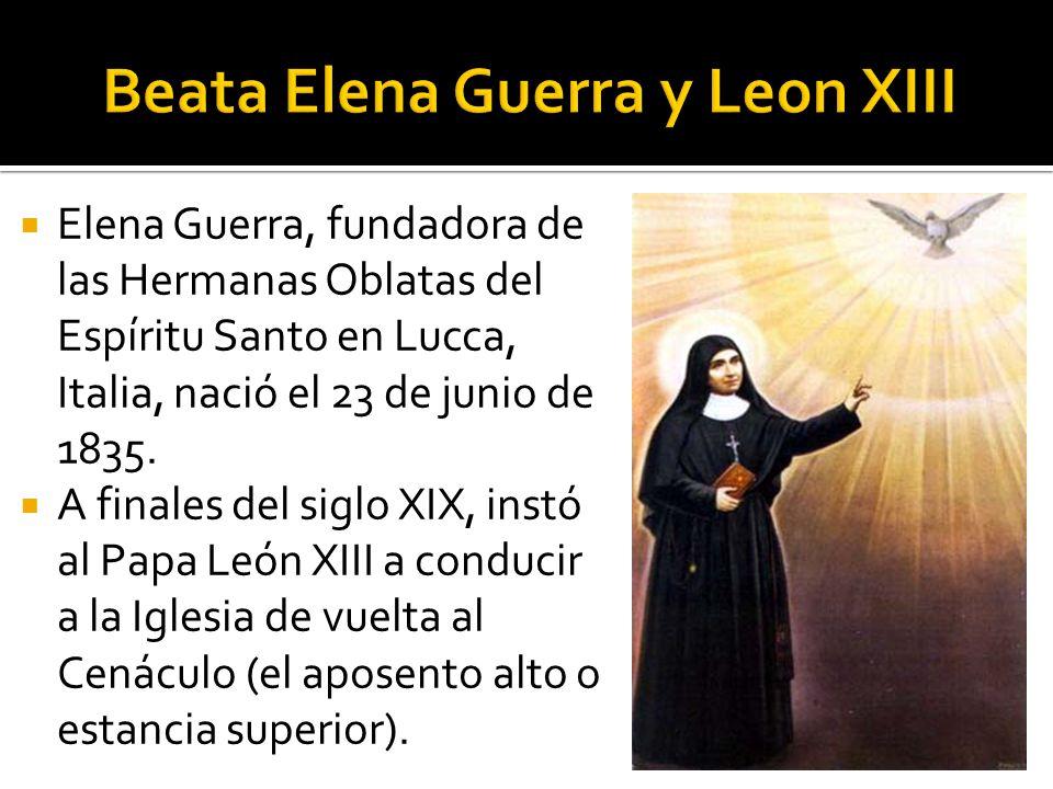 Beata Elena Guerra y Leon XIII
