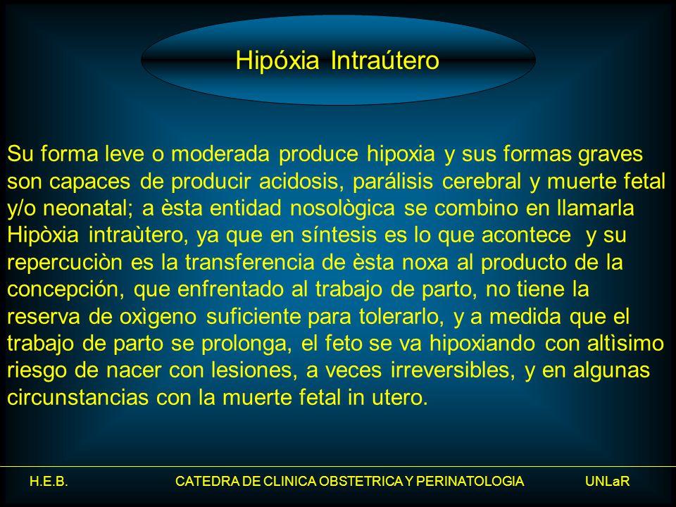 Hipóxia Intraútero