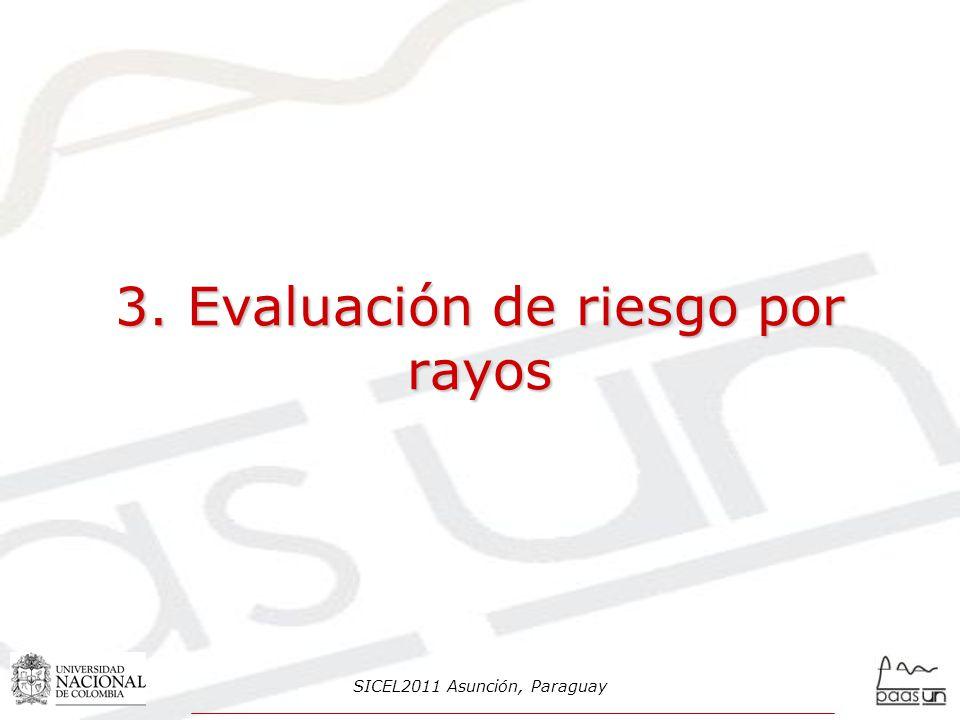 3. Evaluación de riesgo por rayos