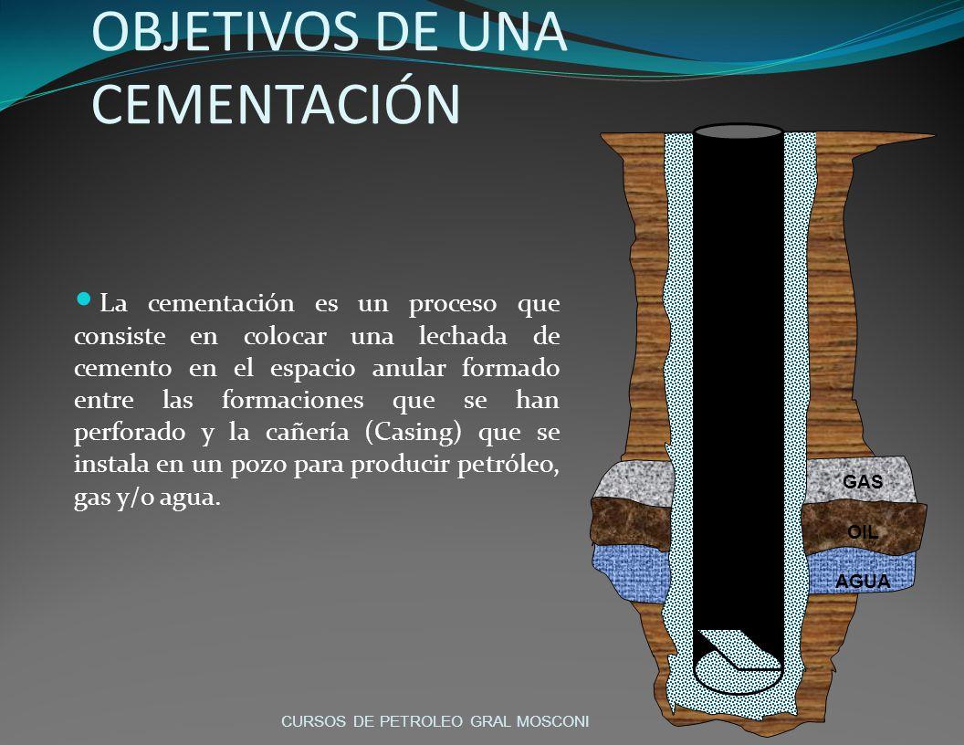 OBJETIVOS DE UNA CEMENTACIÓN